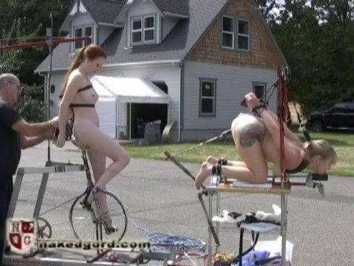 BDSM Junkyard Fucking Machine