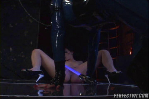 Femdom and Strapon Latex Diaries