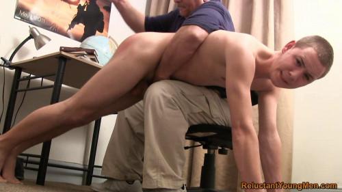 Gay BDSM Nicholas Hand Spanked