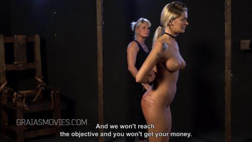 BDSM Brutal Domination For Busty Slave Fatima