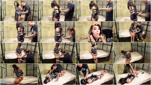 BDSM SBound - Vesper Luna.. Helplessly Belt Bound and Muzzled