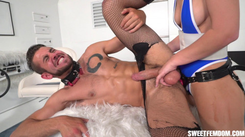 Femdom and Strapon Super Ginger VS Dante Colle Part 2