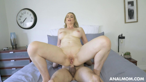 Blonde MILF Lilly James Assfucked By Young Cock