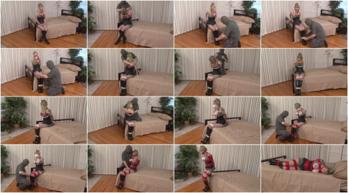 BDSM HD Bdsm Sex Videos Lorelei is WrapGagged Roped Taped and Groped