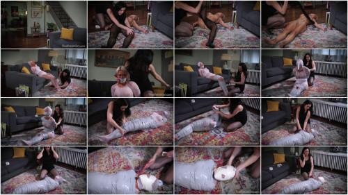BDSM Encased Mummified  Sold Off