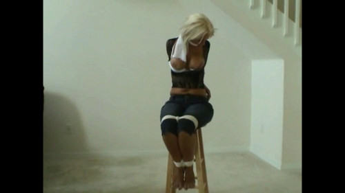 BDSM Snatched And In Elbow Bound Agony