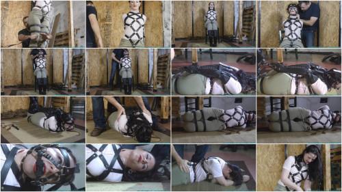 BDSM Pony Girl Try on with Caroline Pierce 2 part - Extreme, Bondage, Caning