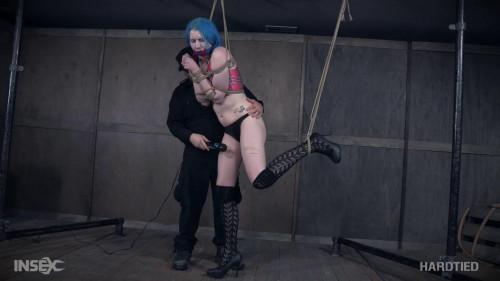 BDSM Tall bondage slut Lux Lives