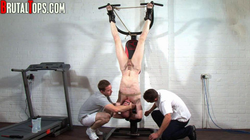 Gay BDSM Brutal Tops - Hung, Pissed On And Shocked