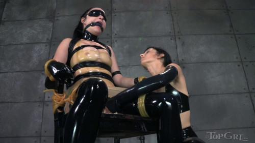 BDSM Latex Veruca James Squeaky Clean