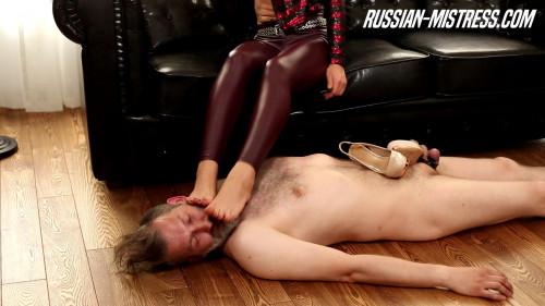 Femdom and Strapon Mistress Rebeca