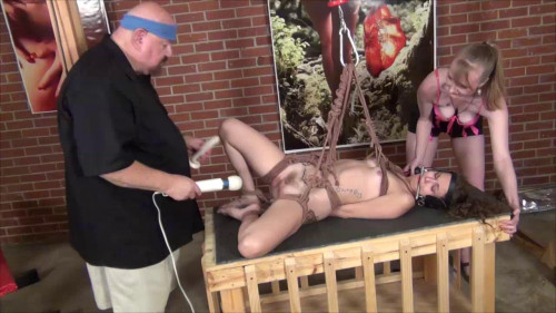bdsm Bailey Suspended Orgasm Part Two
