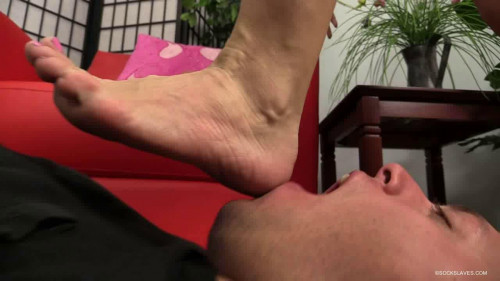 Femdom and Strapon Mistress Nikki - Sock Slaves