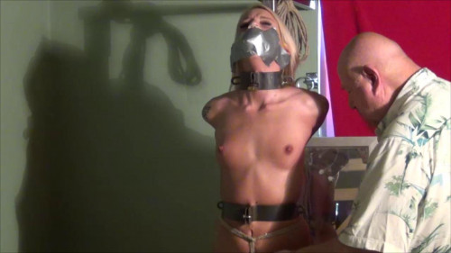bdsm Bella Steel and Rope