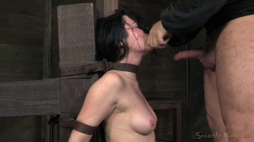 BDSM Pretty Veruca James utterly destroyed by brutal deep throat