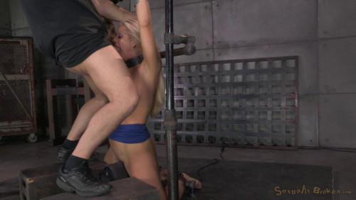 BDSM Big breasted bimbo