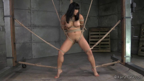 BDSM First Bondage For Exotic Asian Beauty