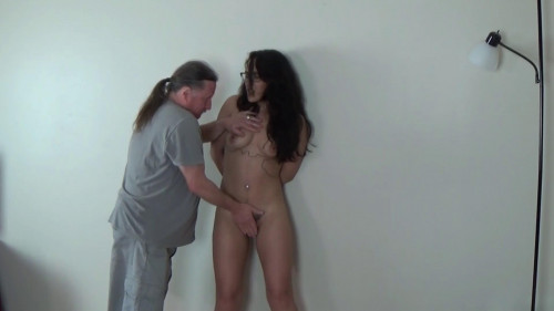 BDSM Tied And Fingered Brat