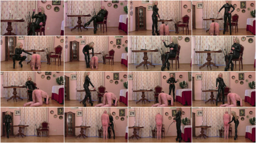 Femdom and Strapon Daily Whipping For My Slaves Pt 2