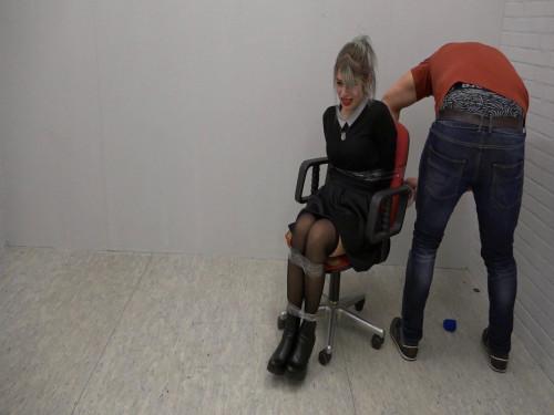 BDSM Real Estate Agent Feet Tickled
