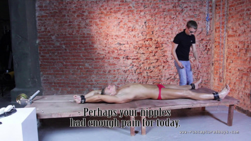 Gay BDSM Favourite Pain Slave Pavel - Part II