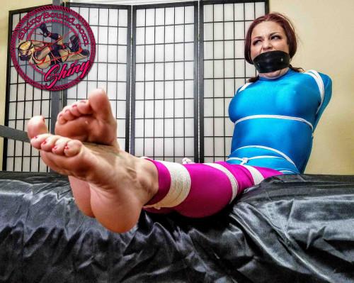 BDSM ShinyB - Sarah Brooke.. Extreme Strict Hogtie