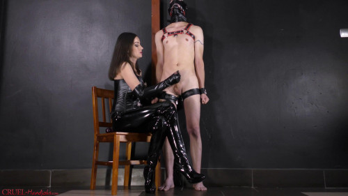 Femdom and Strapon You learned the lesson, slave?