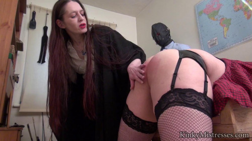 Femdom and Strapon cp in the claasroom
