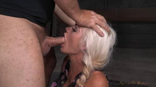 BDSM Sexy Blonde Holly Heart Ragdoll Fucked....