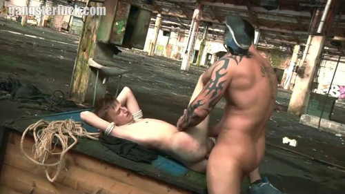 Gay BDSM GangsterFuck - The Dark Side