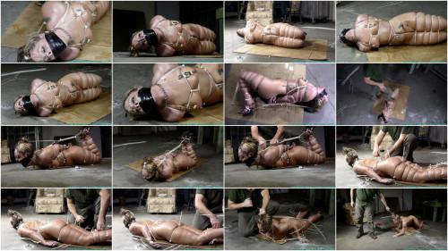 BDSM Bondage, strappado, hogtie and spanking for naked bitch part 3 Full HD 1080p