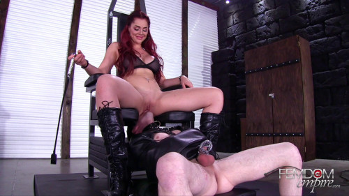 Femdom and Strapon Amazonian sex toy