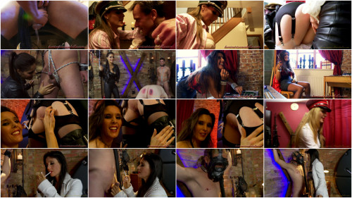 Femdom and Strapon Dominatrix Annabelle Cool Perfect Sweet Full Magic Collection. Part 3.
