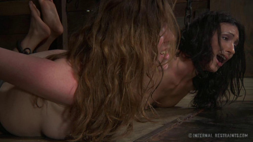 BDSM Teamwork - Wenona and Mattie Borders