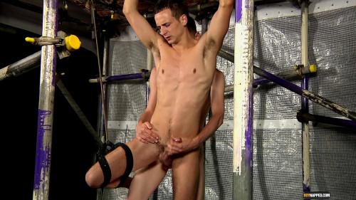 Gay BDSM Hung Luke Wanked