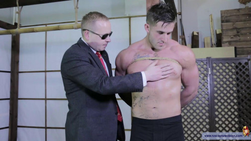 Gay BDSM Captive from the Slaves Hunter - Part II