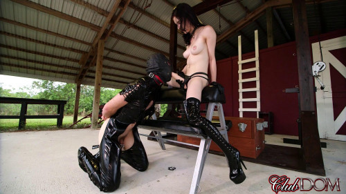 Femdom and Strapon Anna Lee - Bratty StrapOn Fucking