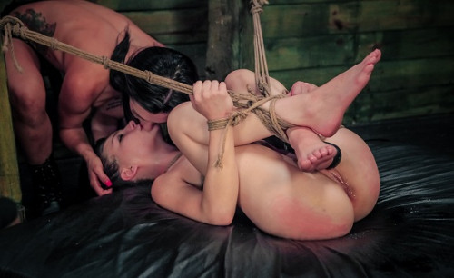bdsm Hard Lesbian Domination with Nikki Bell and Isa Mendez