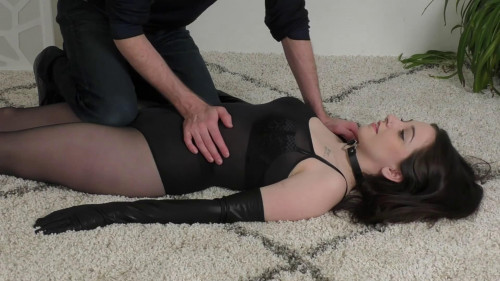 BDSM Super bondage, predicament and torture for sexy brunette