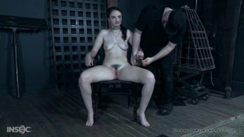 BDSM Sadistic torments for petite slave