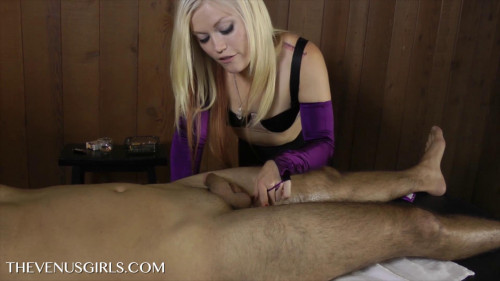 Femdom and Strapon Mean Brat Massage - Ash Hollywood and Max Roxberry - Full HD 1080p