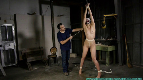 BDSM Under Cover Spy Ariel Captured and Interrogated - Pt 2