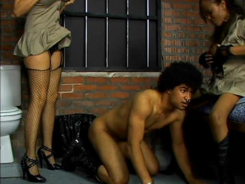 Femdom and Strapon Strap - On Boot Camp