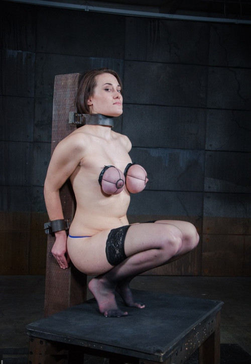 bdsm Rylie Kay-Ryled Up(New form of breast bondage)