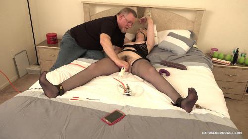 BDSM Exposedbondage - Luci lovett taken from lingerie store
