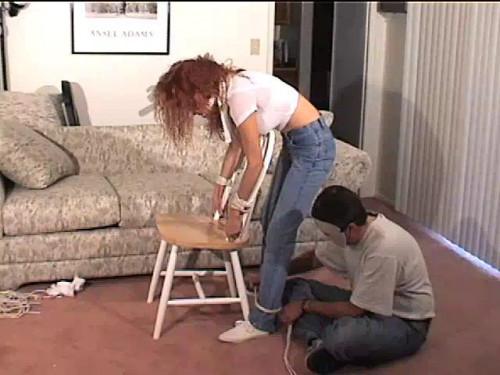 BDSM Bound At Home  Melanie