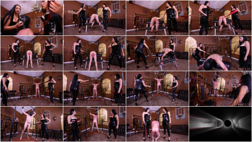 Femdom and Strapon Goddess Cheyenne, Lydia Supremacy - Breaking Slave 23