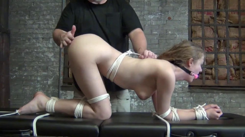 BDSM Super bondage, spanking and domination for beautiful bitch Full HD1080