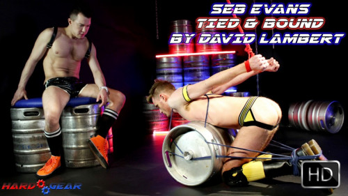 Gay BDSM Seb Evans Tied and Bound By David Lambert