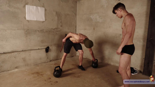 Gay BDSM Prisoners Competition - Vasya - Part I